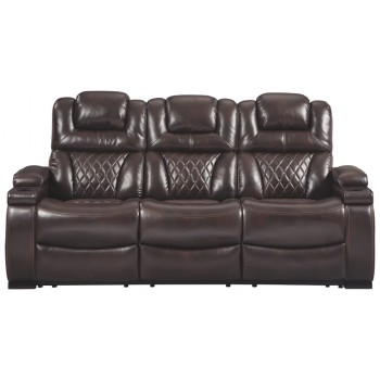 Warnerton - PWR REC Sofa with ADJ Headrest