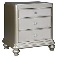 Coralayne - Three Drawer Night Stand