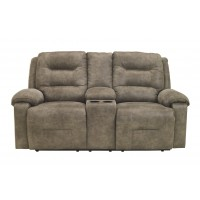 Rotation - DBL Rec Loveseat w/Console