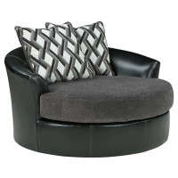 Kumasi - Oversized Swivel Accent Chair