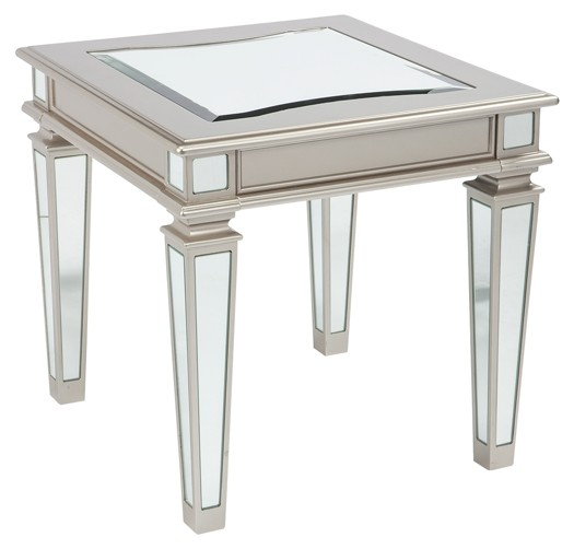 Tessani - Rectangular End Table