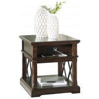 Roddinton - Roddinton End Table with USB Ports & Outlets