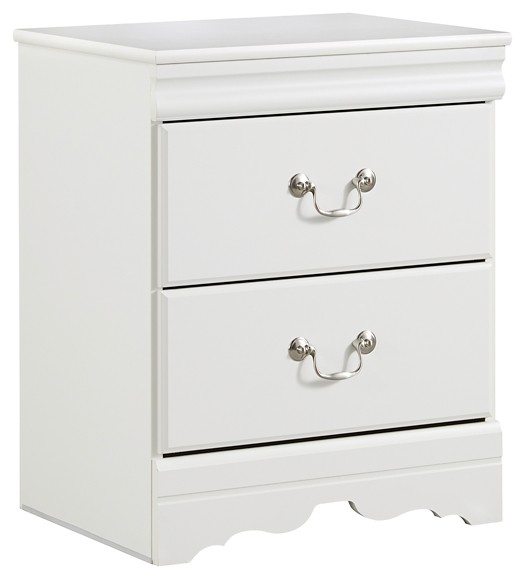 Anarasia - Two Drawer Night Stand