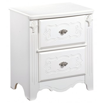 Exquisite - Two Drawer Night Stand