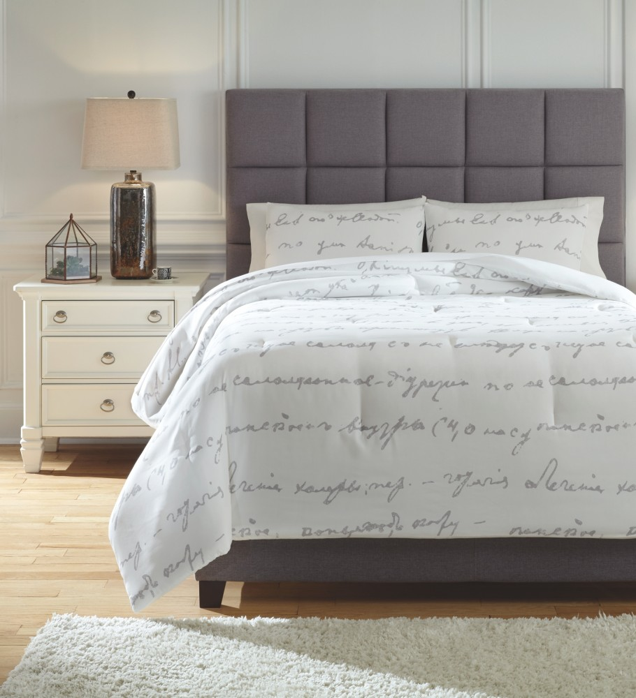 Adrianna - King Comforter Set