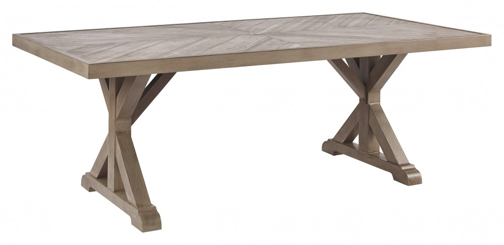 Beachcroft - RECT Dining Table w/UMB OPT