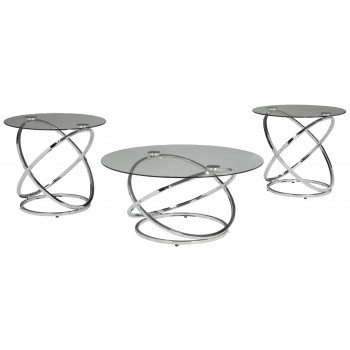 Hollynyx - Occasional Table Set (3/CN)