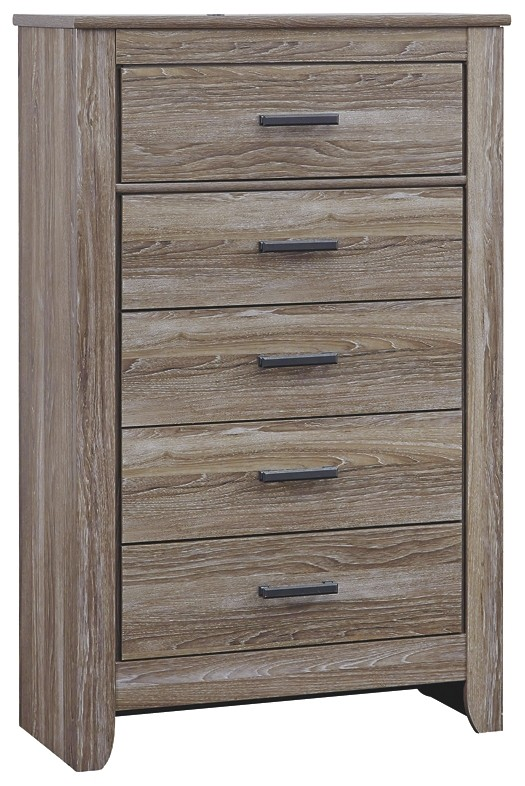 Zelen - Five Drawer Chest
