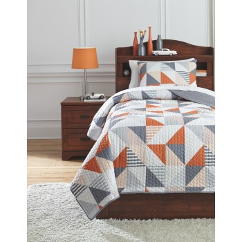 Layne - Twin Coverlet Set