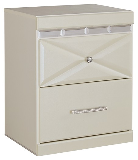 Dreamur - Two Drawer Night Stand