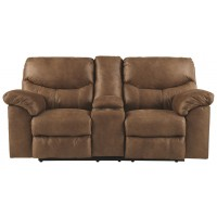 Boxberg - Boxberg Power Reclining Loveseat with Console