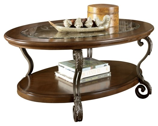 Nestor - Oval Cocktail Table