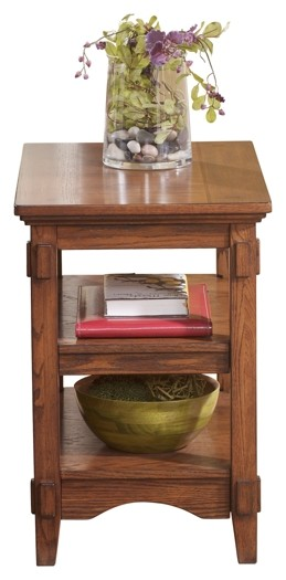 Cross Island - Chair Side End Table