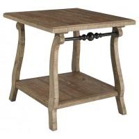 Dazzelton - Rectangular End Table