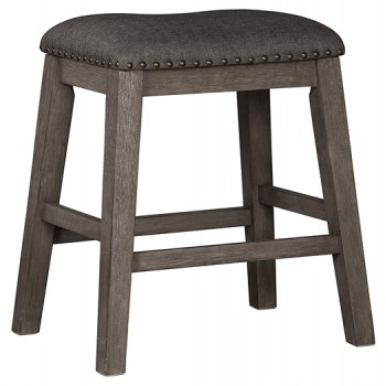 Caitbrook - Upholstered Stool (2/CN)
