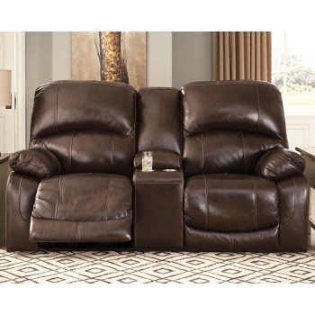 Hallstrung - Hallstrung Power Reclining Loveseat with Console
