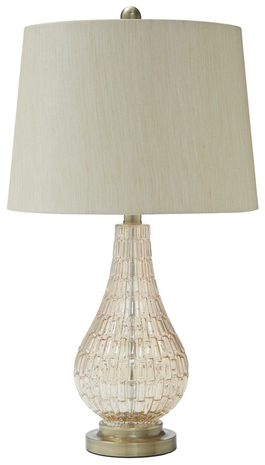 Latoya - Glass Table Lamp (1/CN)