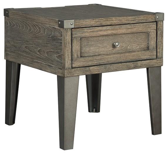 Chazney - Rectangular End Table