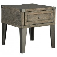 Chazney - Rectangular End Table