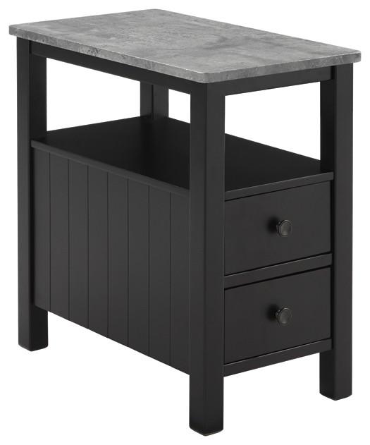 Ezmonei - Chair Side End Table