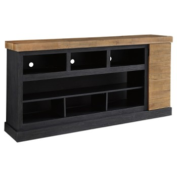 Tonnari - XL TV Stand w/Fireplace Option