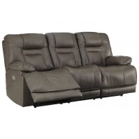 Wurstrow - PWR REC Sofa with ADJ Headrest
