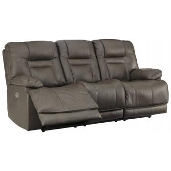 Wurstrow - PWR REC Sofa with ADJ Headrest