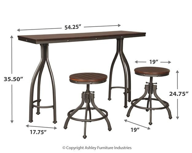 Fine Odium Odium Counter Height Dining Room Table And Bar Stools Set Of 3 Andrewgaddart Wooden Chair Designs For Living Room Andrewgaddartcom