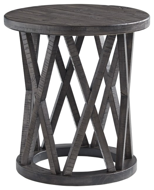Sharzane - Round End Table