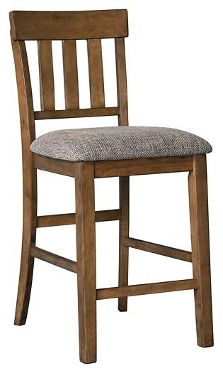 Flaybern - Upholstered Barstool (2/CN)