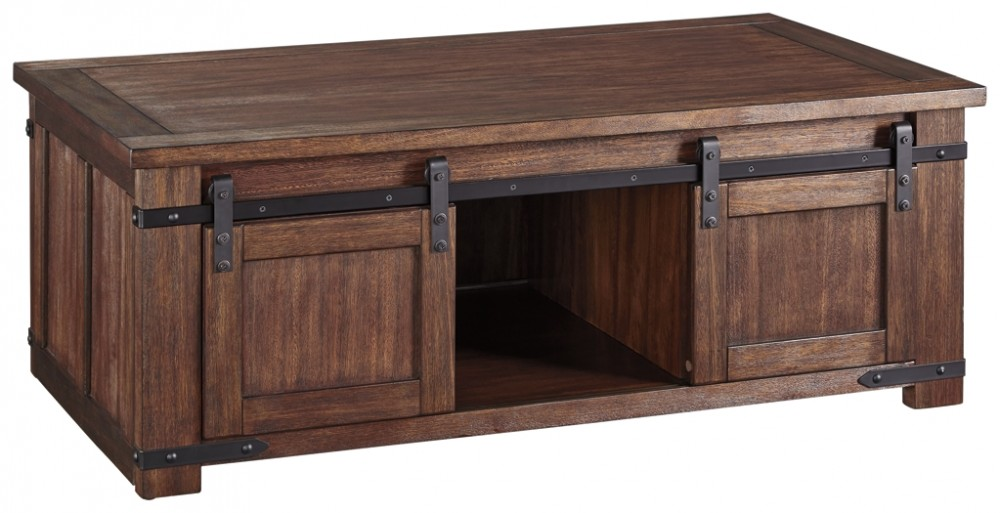 Budmore - Rectangular Cocktail Table