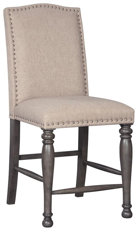 Audberry - Upholstered Barstool (2/CN)