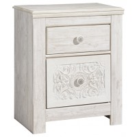 Paxberry - Two Drawer Night Stand
