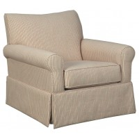 Almanza - Swivel Glider Accent Chair