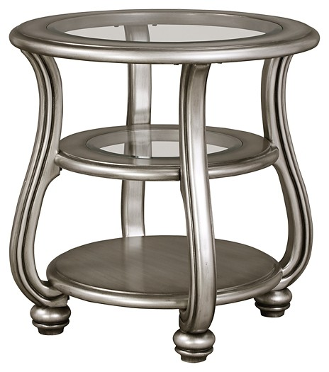 Coralayne - Round End Table