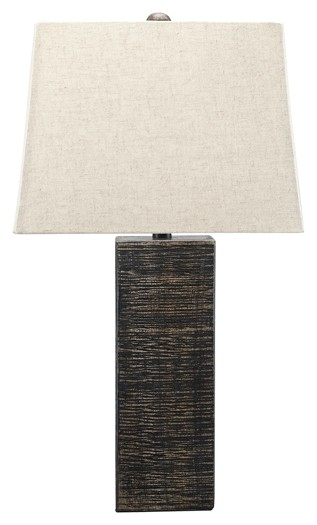 Mahak - Wood Table Lamp (2/CN)
