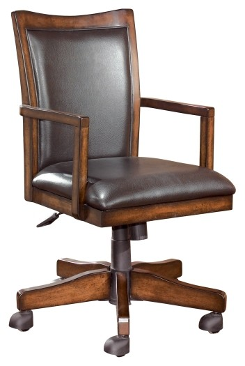 Hamlyn Home Office Swivel Desk Chair H527 01a Home Office Desk Chair Shapiro S Furniture Barn