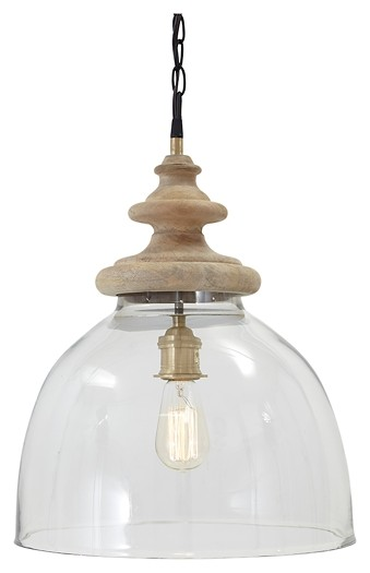 Farica - Glass Pendant Light (1/CN)