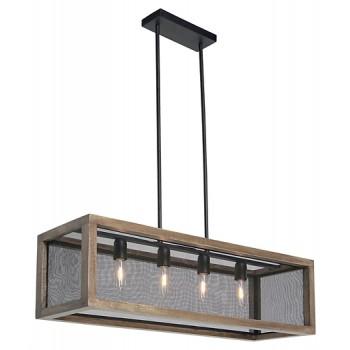 Jodene - Wood Pendant Light (1/CN)