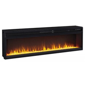 Entertainment Accessories - Wide Fireplace Insert