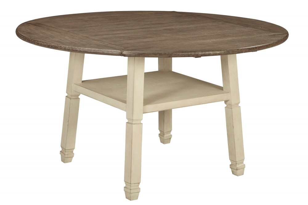Bolanburg - Round Drop Leaf Counter Table