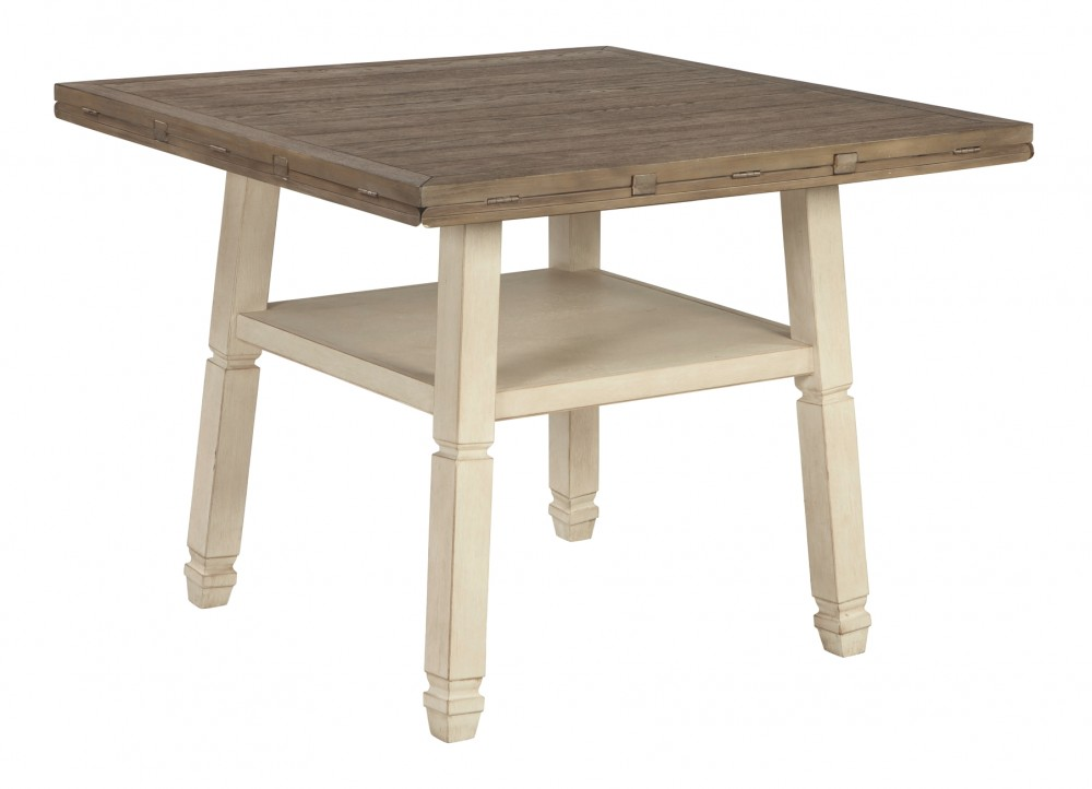 Bolanburg - Bolanburg Counter Height Dining Room Drop Leaf Table