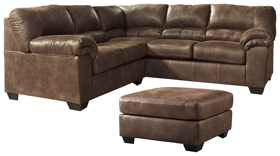 Bladen - 2-Piece Sectional and Ottoman