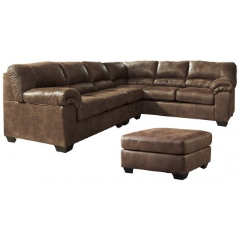 Bladen - 3-Piece Sectional with Ottoman