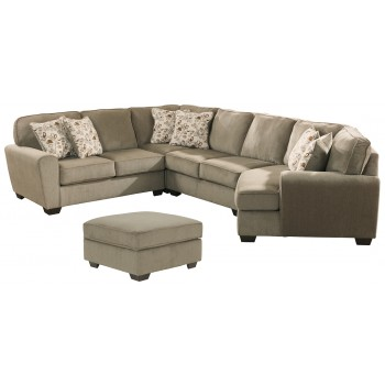 Patola Park 4 Piece Sectional With Ottoman 12900 S5 11