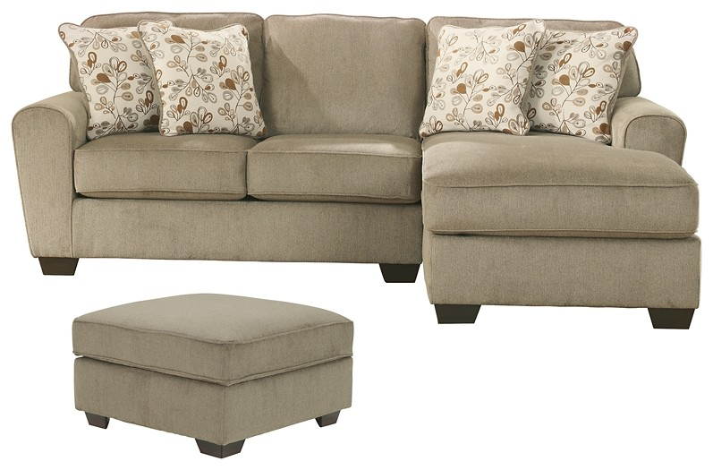 Patola Park - 2-Piece Sectional with Ottoman