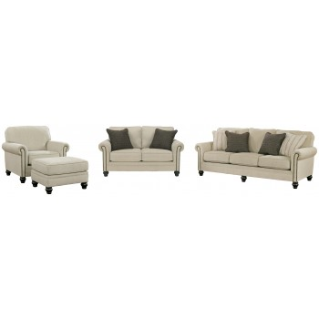 Milari - 3-Piece Upholstery Package with Ottoman