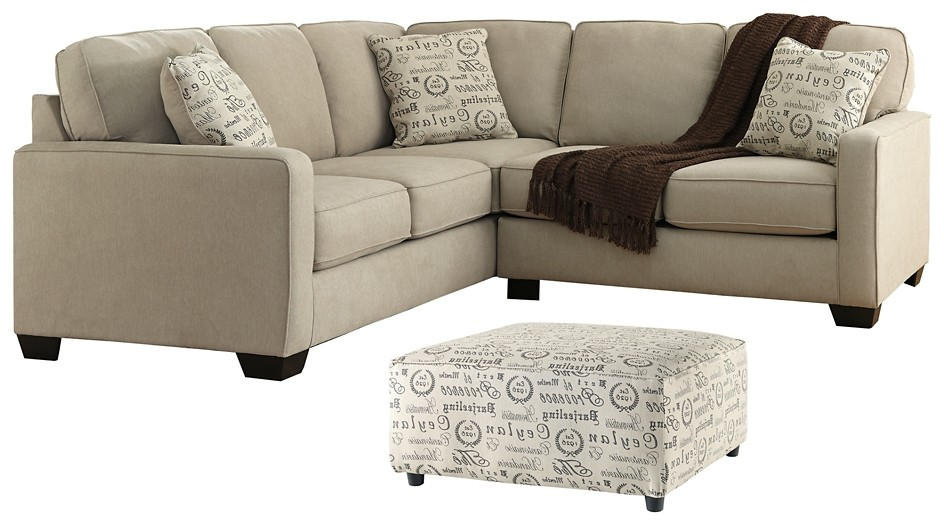 Alenya - 2-Piece Sectional with Ottoman