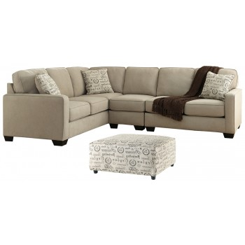Alenya - 3-Piece Sectional with Ottoman