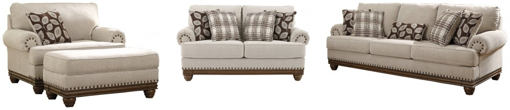 Harleson - Sofa, Loveseat, Chair and Ottoman